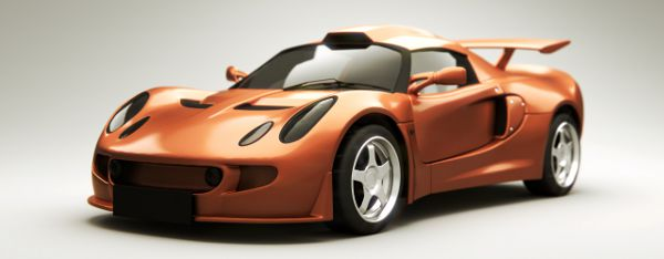 Lotus Exige sports car front