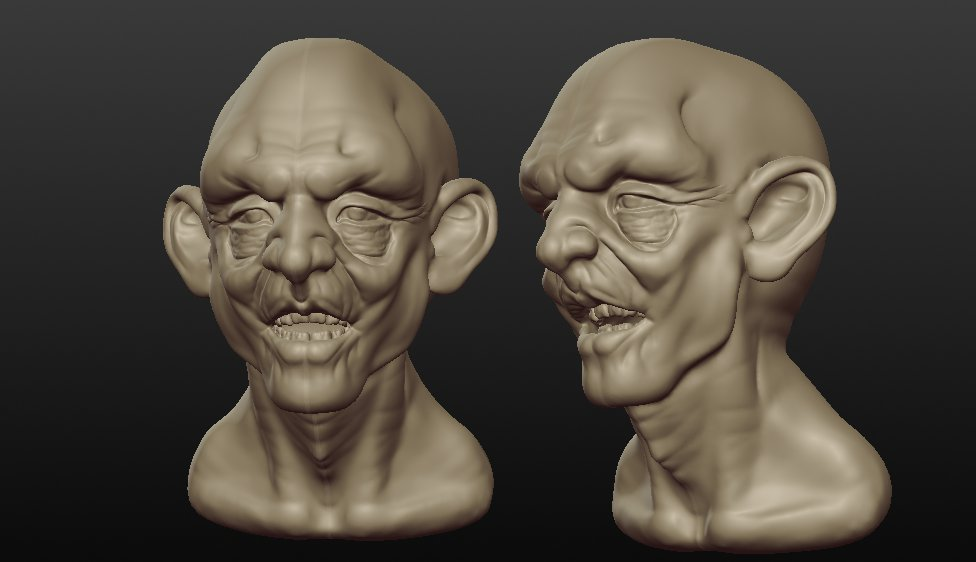 Quick Sculptris Models Kjartan Tysdal Cg Artist